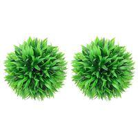 vidaXL Artificial Boxwood Balls 2 pcs 20 cm