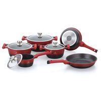 Herenthal - 10 Piece Cookware Set - Ht-cbs1010m - Red/black