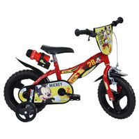 Dino Bikes Kids Bicycle Mickey Mouse Red 12