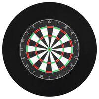 vidaXL Professional Dartboard Surround Ring EVA