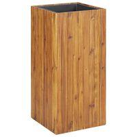 vidaXL Garden Raised Bed 43,5x43,5x90 cm Solid Acacia Wood