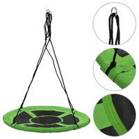 vidaXL Swing 110 cm 100 kg Green