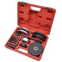 16 pcs Wheel Hub Bearing Tool Kit 62 mm for VAG