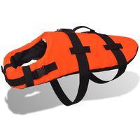 vidaXL Dog Rescue Vest L Orange