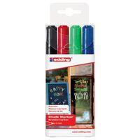 edding Chalk Marker 4pcs Multicolour 4095