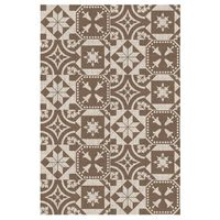 Esschert Design Outdoor Rug 182x122 cm Portuguese Tiles