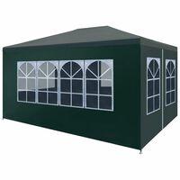vidaXL Party Tent 3x4 m Green