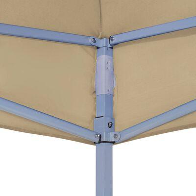 vidaXL Party Tent Roof 3x3 m Beige 270 g/m²