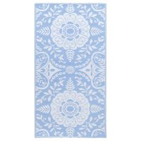 vidaXL Outdoor Carpet Baby Blue 120x180 cm PP