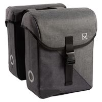 "Willex Bicycle Panniers ""800"" 24 L Grey and Black"