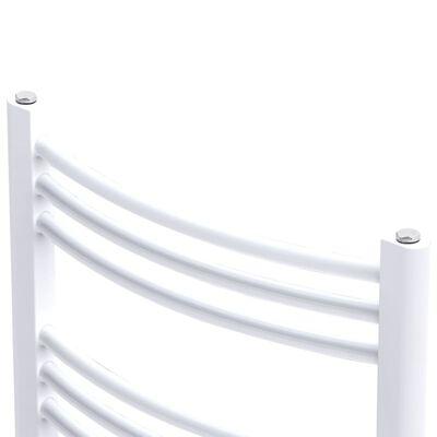 Bathroom Radiator Central Heating Towel Rail Curve 480 x 480 mm