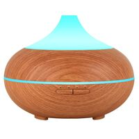 500ml Aromatherapy Essential Oil Diffuser 7 Color LED