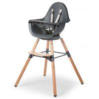 CHILDHOME 2-in-1 Baby High Chair Evolu One.80° Anthracite CHEVO180NA