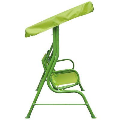 vidaXL Kids Swing Seat Green
