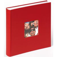 Walther Design Photo Album Fun 30x30 cm Red 100 Pages