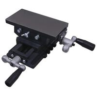 VidaXL Manually Operated Cross Slide Vice Table