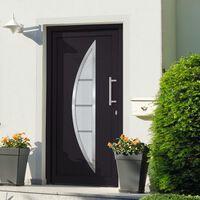 vidaXL Front Door Anthracite 98x190 cm