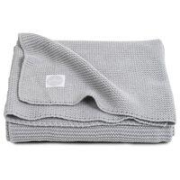Jollein Blanket Basic Knit 75x100 cm Grey 516-511-65105