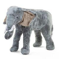 CHILDHOME Standing Toy Elephant 77x33x55cm Grey