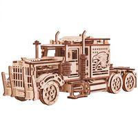 Wood Trick Wooden Scale Model Kit Big Rig