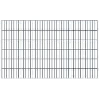 vidaXL 2D Garden Fence Panels 2.008x1.23 m 22 m (Total Length) Grey