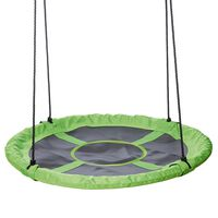 Happy People Kids Swing Seat 90 cm Green and Black