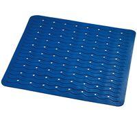 RIDDER Non-Slip Shower Mat Playa 54x54 cm Blue 68403