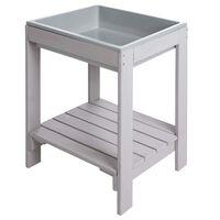 roba Outdoor Play Table 38x32x50 cm Grey
