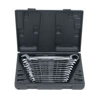 KS Tools Combination Wrench 12pcs Set Storage Case 8-19mm