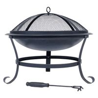 RedFire Fire Bowl Atlanta Black Steel 51 cm 85014