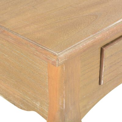 vidaXL TV Cabinet with 2 Drawers 120x35x35 cm Solid Pine Wood