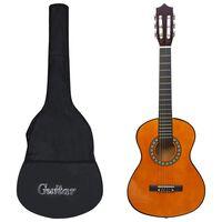 """vidaXL 8 Piece Classical Guitar Children Beginner Set 1/2 34"""""""