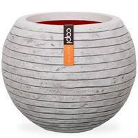 Capi Vase Nature Row Ball 62x48 cm Ivory KRWI271