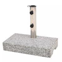 vidaXL Parasol Base Granite Rectangular 25 kg