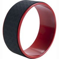 Pure2Improve Yoga Wheel 30 cm Black and Red
