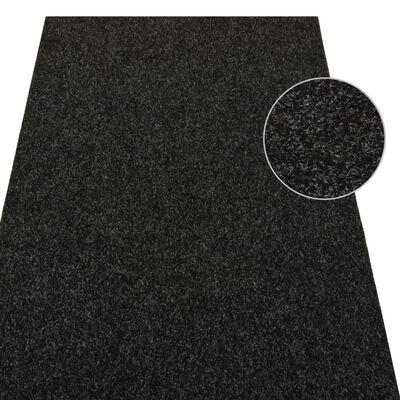 vidaXL Artificial Grass with Studs 4x1.33 m Anthracite