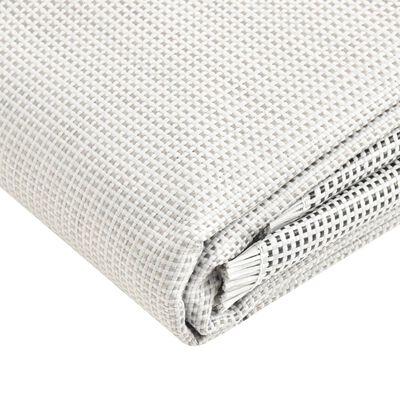 vidaXL Tent Carpet 650x300 cm Grey