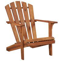 vidaXL Garden Adirondack Chair Solid Acacia Wood