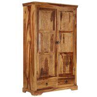 vidaXL Sideboard 110x45x80 cm Solid Sheesham Wood