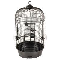 FLAMINGO Parakeet Cage Sanna 2 35x35x67 cm Black