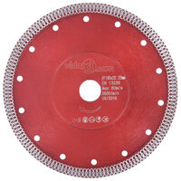 vidaXL Diamond Cutting Disc with Holes Steel 230 mm