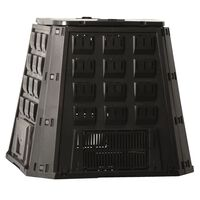 Nature Compost Bin Black 400 L 6071480