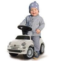 Jamara Push Car Fiat 500 White