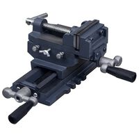 vidaXL Manually Operated Cross Slide Drill Press Vice 70 mm