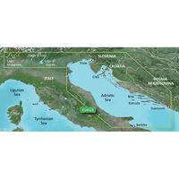 GARMIN VEU452S ADRIATIC SEA NORTH COAST BLUECHART G3