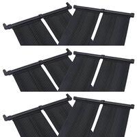 vidaXL Solar Pool Heater Panel 6 pcs 80x310 cm