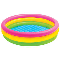 Intex Sunset Inflatable Pool 3 Rings 147x33 cm