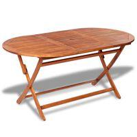 vidaXL Garden Table 160x85x75 cm Solid Acacia Wood