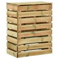 vidaXL Slatted Garden Composter 80x50x100 cm Impregnated Pinewood