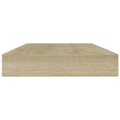 vidaXL Bookshelf Boards 8 pcs Sonoma Oak 80x10x1.5 cm Chipboard